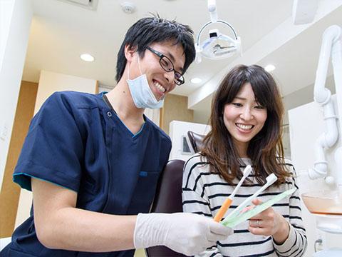 歯ブラシの選択